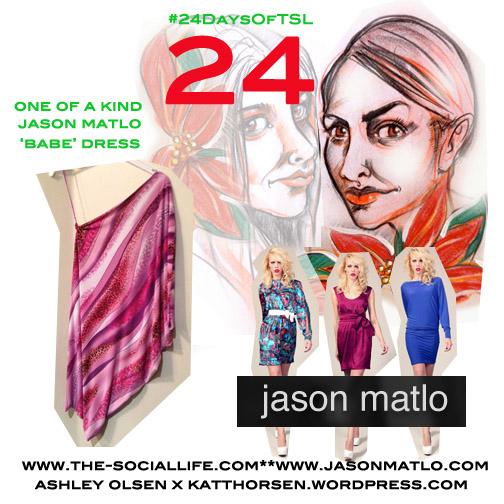 #24DaysOfTSL Dec 24 x Jason Matlo