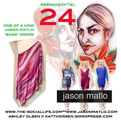 #24DaysOfTSL Dec 24 x Jason Matlo