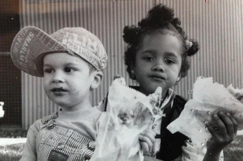 My kids: Anna and Julian