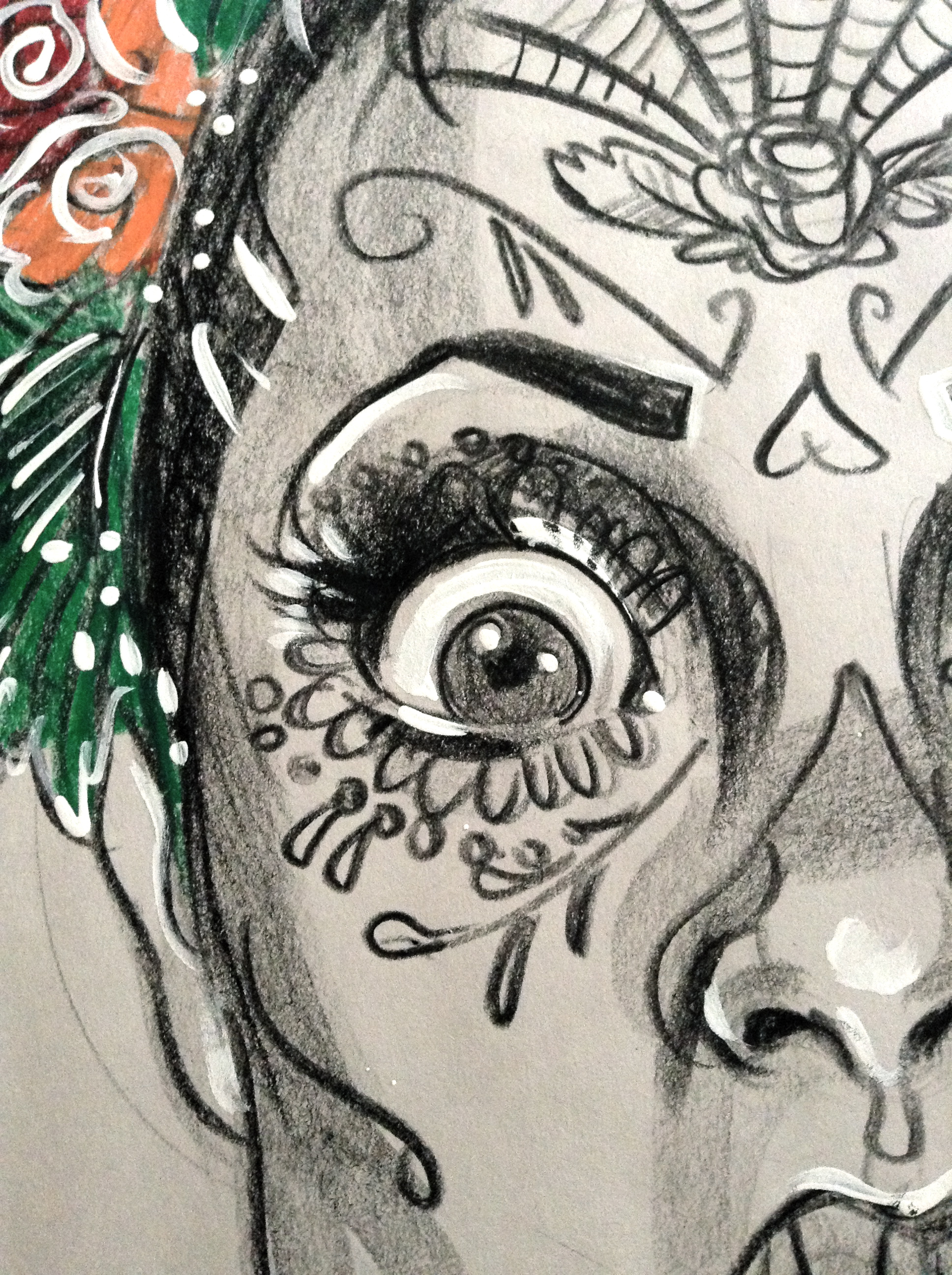 Draw-a-sugarskull tutorial! | Katarina Thorsen Art Blog