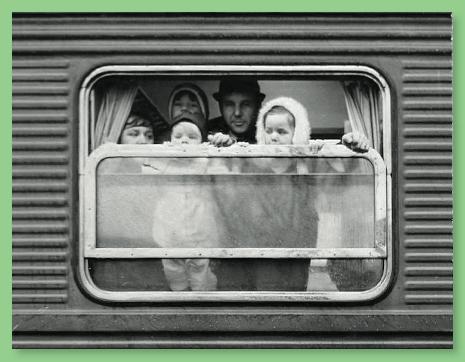 Leaving Sweden, October 1968