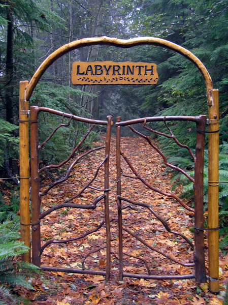 labyrinth-door