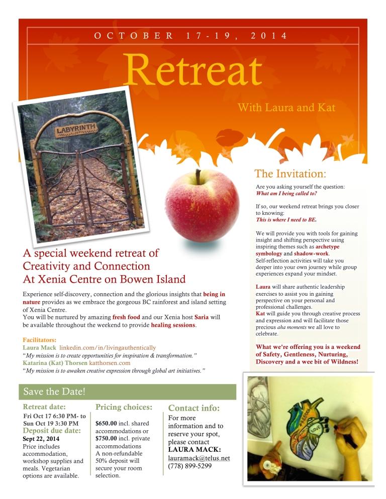 Retreat Flyer
