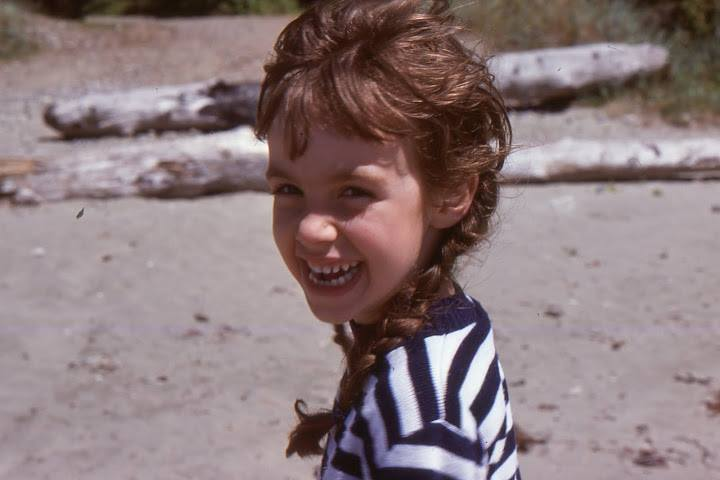 """""""Four-year old me during a summer visit to my Grandparents' home in Tofino on Vancouver Island. (1977)"""" - Emma Varley"""