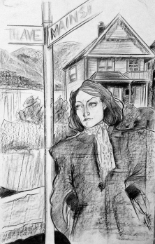 Molly, 5th and Main, October 1947